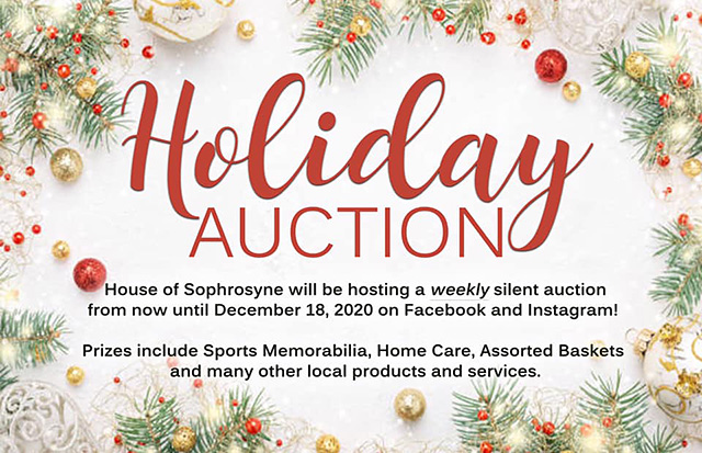 Holiday Auction 2020