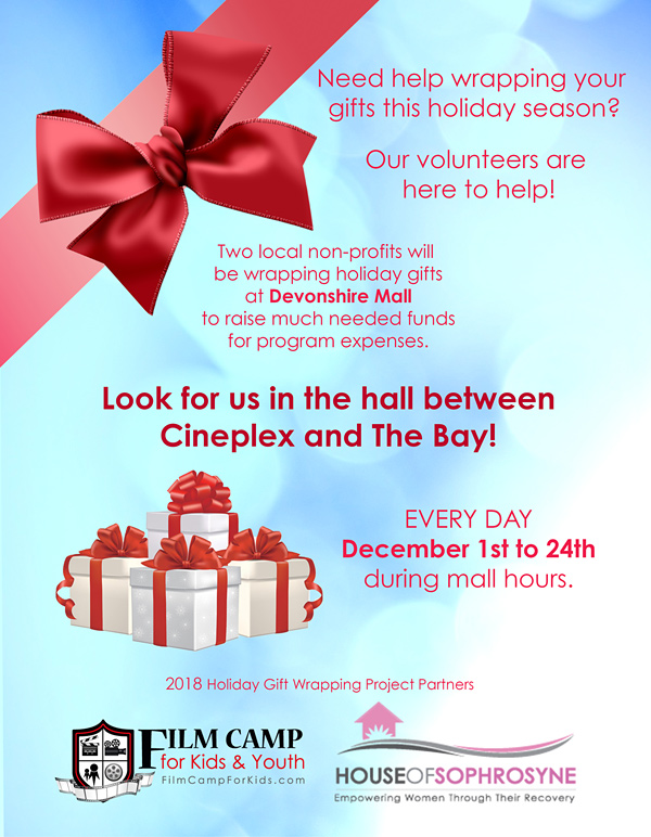 Gift Wrapping Flyer