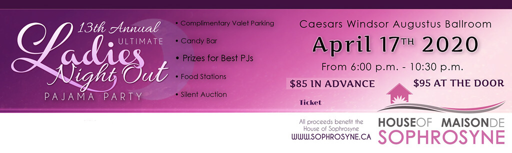 13th Annual House of Sophrosyne PJ Party