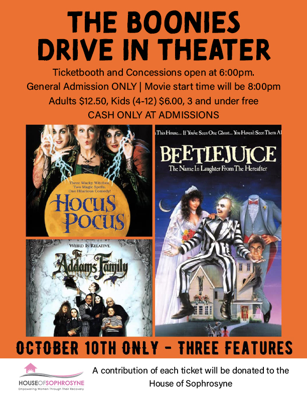 The Boonies Drive in Theator